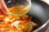 玉ネギとホタテのチヂミの作り方5
