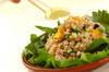 押し麦のサラダの作り方の手順3