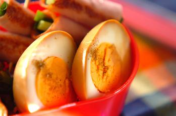 タレ漬けゆで卵