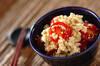 プチトマトの中華白和えの作り方の手順
