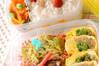 ミックス野菜の卵巻きの作り方の手順