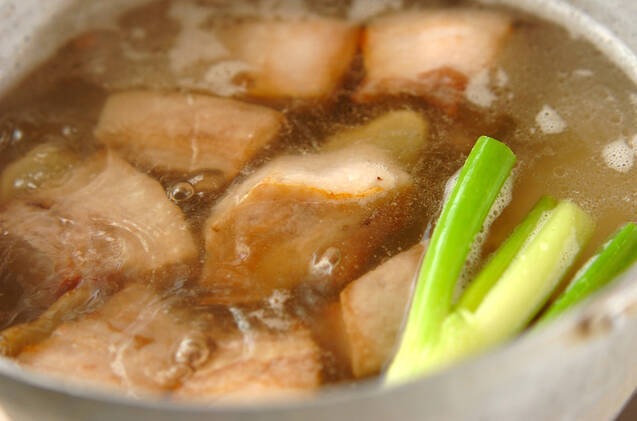 和風豚の角煮の作り方の手順2