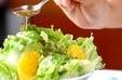 レタスと甘夏のサラダの作り方1
