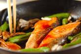 鮭の韓国風照り焼きの作り方7