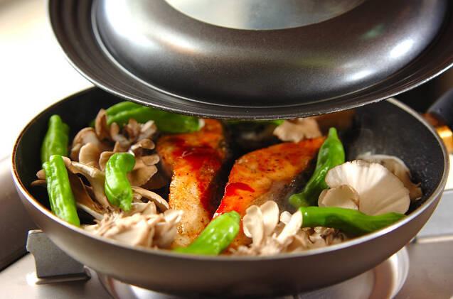 鮭の韓国風照り焼きの作り方の手順6