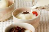和風イチゴミルク白玉の作り方3
