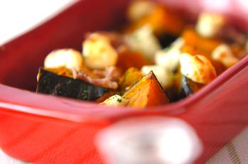 カボチャのチーズ焼