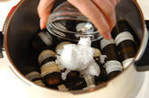 タラコとゴボウの昆布巻き(圧力鍋)の作り方3