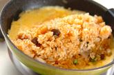 炊き込みチキンオムライスの作り方4