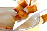 揚げ高野豆腐汁の作り方3