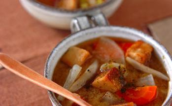 揚げ高野豆腐汁