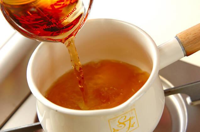 麦茶寒天の作り方の手順1