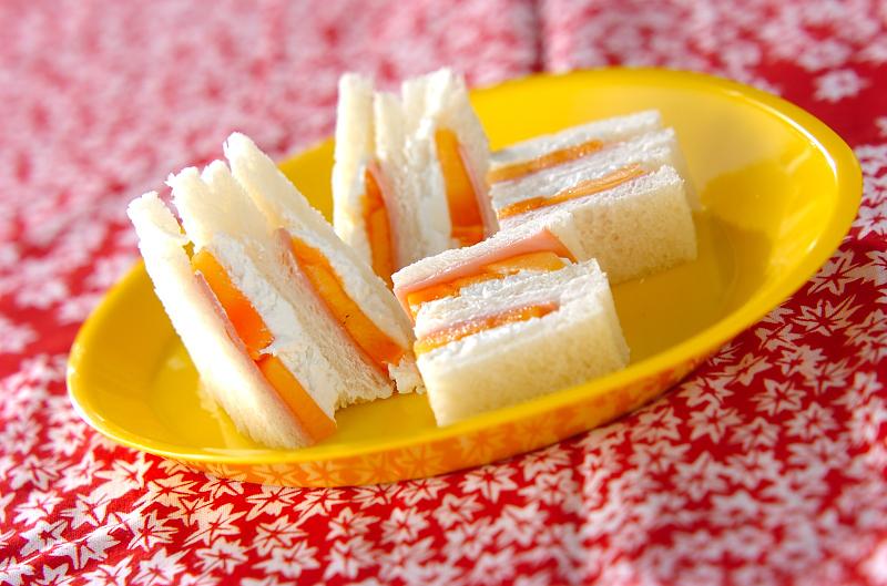 3. ハムチーズをアレンジ