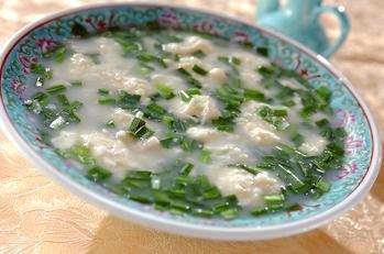 フワフワ豆腐スープ