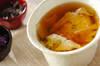 湯葉と落とし卵のお吸い物