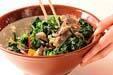 菊菜の白和えの作り方7
