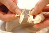 ささ身とキュウリの梅和えの作り方1