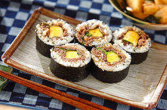 牛肉巻き寿司