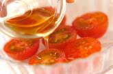 プチトマトのゴマ風味の作り方1