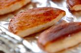 焼きさつま揚げのオクラおろしのせの作り方2