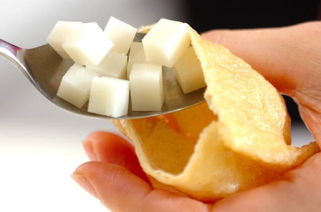 チーズ餅巾着の作り方の手順2