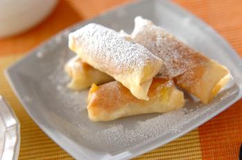 ピーナッツバナナ揚げ