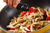 キノコのガーリック炒めの作り方5