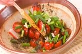 プチトマトのゴマ汚しの作り方5