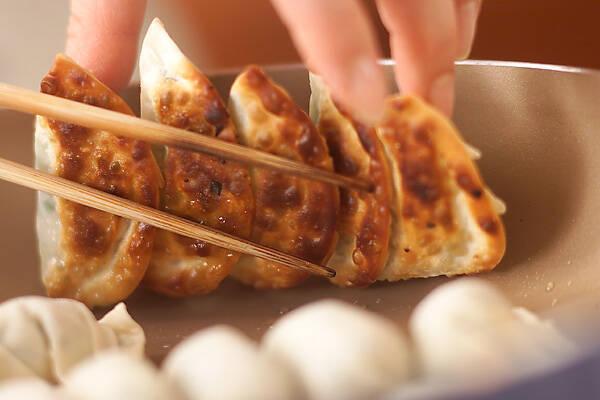 焼き餃子の作り方の手順5
