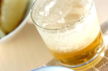 梅酒ジンジャーソーダ