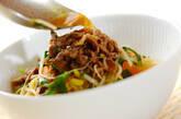 クッパ風春雨スタミナスープの作り方7