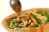 ゆでモヤシのサラダの作り方1