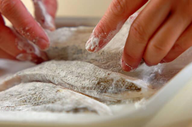 揚げ魚の甘酢あんかけの作り方の手順7