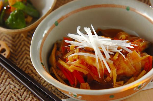 5. カリッふわっ♪白身魚の甘酢あんかけ