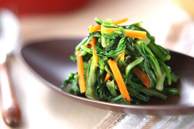 青菜のポン酢和え