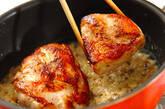 チキンソテーのクリームソース煮の作り方11