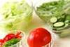ルッコラサラダの作り方の手順1