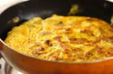 筑前煮の卵焼きの作り方3