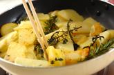 ジャガとソーセージのチーズ焼きの作り方1