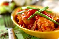 鶏手羽元の柔らかトマト煮