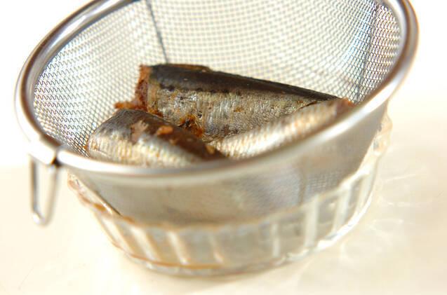 イワシ缶のホットサンドの作り方の手順1