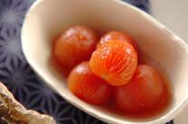 プチトマトの甘酢和え