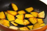カボチャのオイスター炒めの作り方1