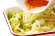 白菜のピリ辛甘酢の作り方2