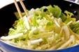 白菜のピリ辛甘酢の作り方1