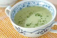 キュウリの冷スープ