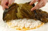 野沢菜のり巻きの作り方5
