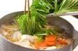 白菜と厚揚げの煮物の作り方3