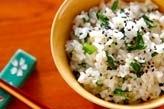 菊菜の混ぜご飯
