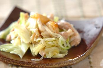 鶏とネギのユズ風味